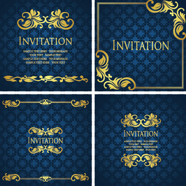 invitation card design background free