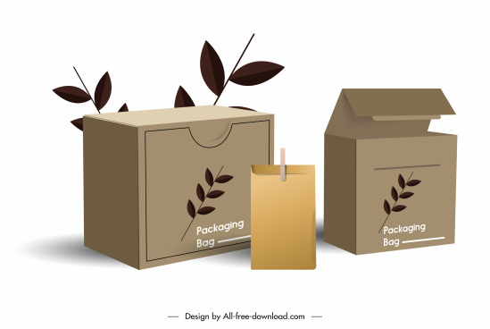 photo Box Design Templates Free Download packaging box template free vector