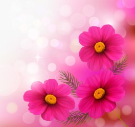Pink flower heart floral background free vector download 63 958 Free vector for commercial use format: ai eps cdr svg vector illustration graphic art design