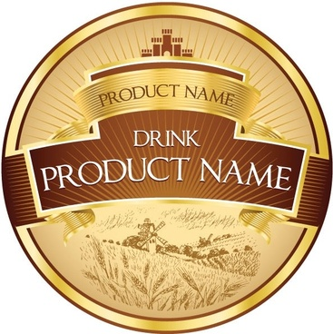 Product label design free vector download 9150 Free vector for commercial use format ai