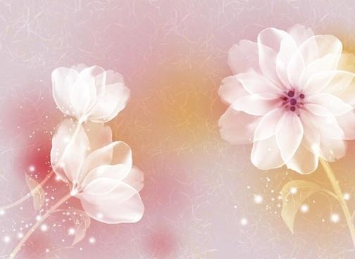 Cute Wedding Cartoon Wallpaper Elegant Flowers Bouquet Vector Free Vector In Encapsulated