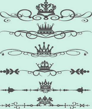 Royal crown borders free vector download (6,578 Free