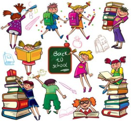 Children school clipart free vector download 5 377 Free vector for commercial use format: ai eps cdr svg vector illustration graphic art design