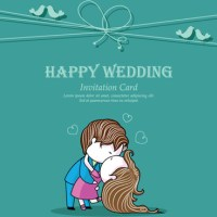 Wedding Invitation With Dvd Kit Design Vector 03