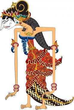 Wayang Rama Vector : wayang, vector, Vector, Wayang, Shinta, Download, Vector), Commercial, Format:, Illustration, Graphic, Design