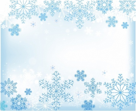 Snow Background Vector Free Vector Download 49541 Free
