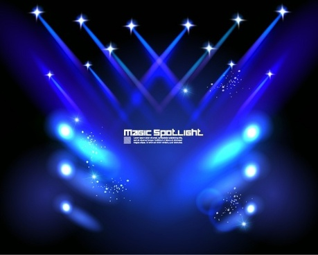 stage light vector free free vector