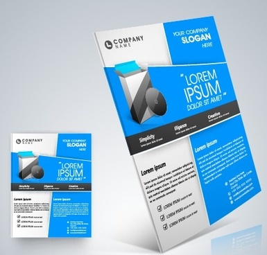 Free Business Flyer Template Free Vector Download 22 725