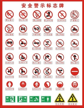 fire safety free vector