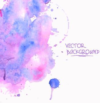 watercolor vector free vector