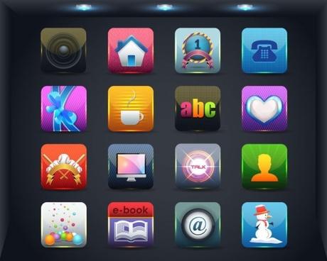 Web icons vector free vector download 26787 Free vector
