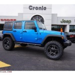 2015 Jeep Wrangler Unlimited Sport 4x4 In Hydro Blue Pearl 520520 All American Automobiles Buy American Cars For Sale In America