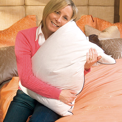 pacific coast double down around pillows with allerrest protection