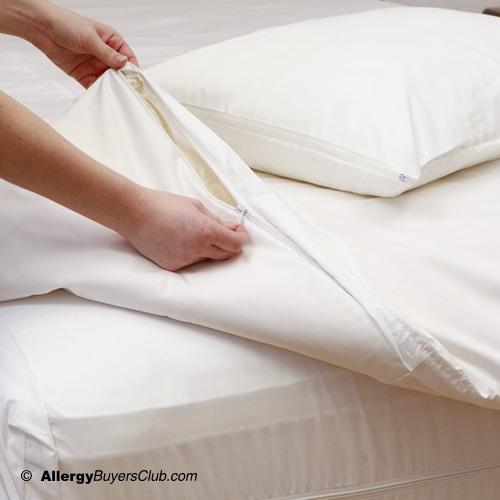 Pristine Dust Mite Allergen Barrier Comforter Covers
