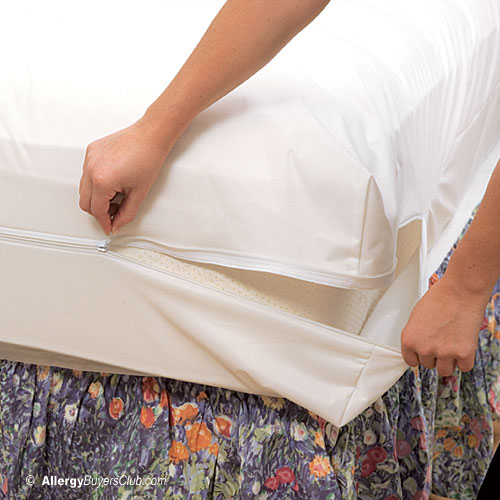 White Mountain Textiles Stretch Knit Dust Mite Bed Bug Mattress Covers