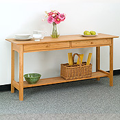 kitchen console table lowes cabinet handles solid wood dining room storage chests allergybuyersclub new england chatham tables