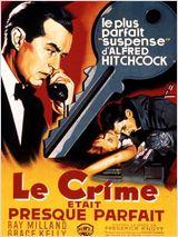 Affiche du film Le crime était presque parfait - source allocine.fr