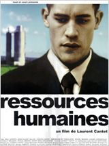 "Affiche du film de Laurent Cantet ""Ressources humaines"" - source : allocine.fr"