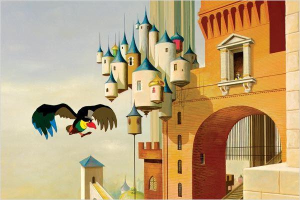 Le Roi et l'oiseau : Photo Paul Grimault