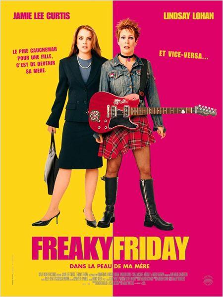 Freaky Friday dans la peau de ma mère : Affiche Jamie Lee Curtis, Mark Waters