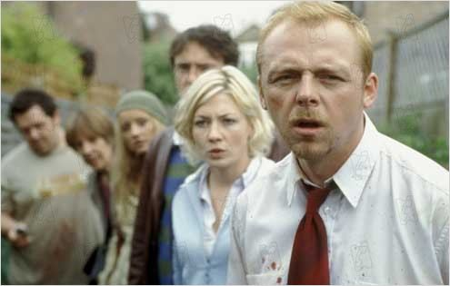 Shaun of the Dead : photo Edgar Wright, Kate Ashfield, Simon Pegg