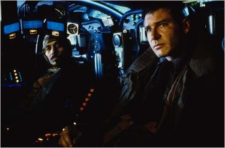 Blade Runner : Photo Edward James Olmos, Harrison Ford