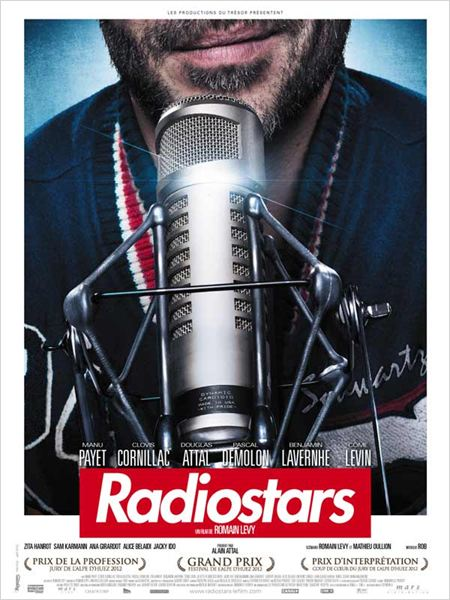 "Affiche du film ""Radiostars"""