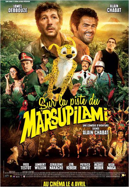 Sur la piste du Marsupilami : affiche