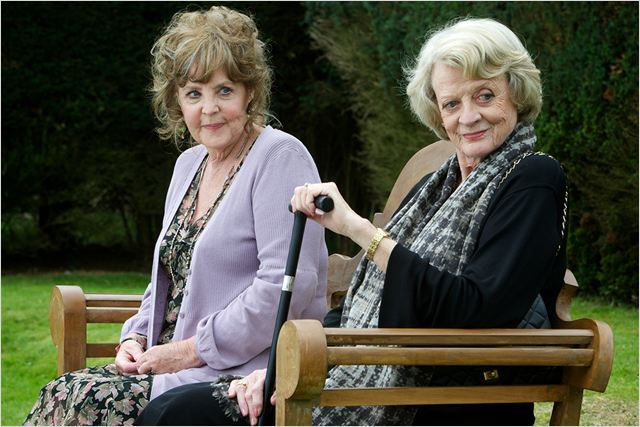 Quartet : photo Maggie Smith, Pauline Collins