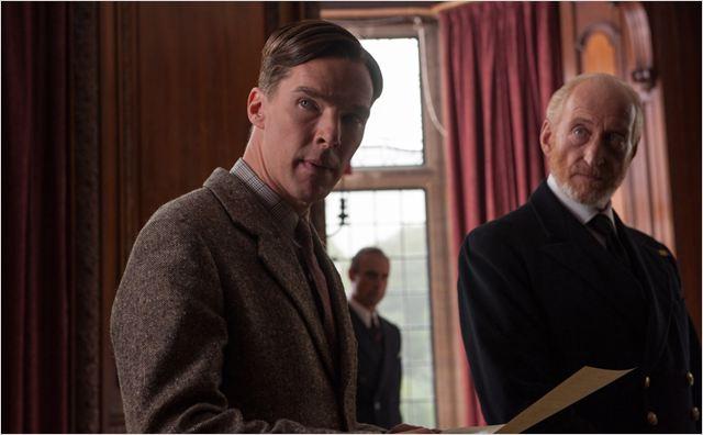 Imitation Game : Photo Benedict Cumberbatch, Charles Dance