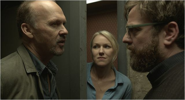 Birdman : Photo Michael Keaton, Naomi Watts, Zach Galifianakis