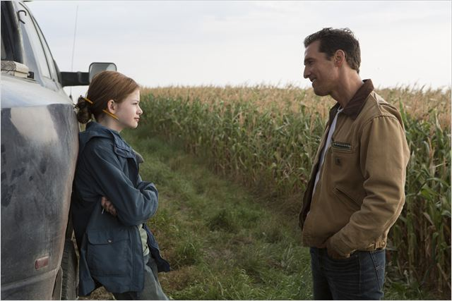 Interstellar : Photo Mackenzie Foy, Matthew McConaughey