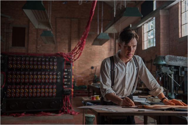 Imitation Game : Photo Benedict Cumberbatch