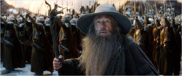 Le Hobbit : la Bataille des Cinq Armées : Photo Ian McKellen