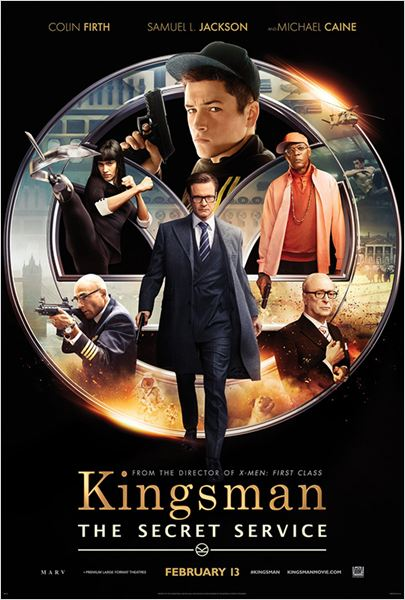 Kingsman : Services secrets : Affiche