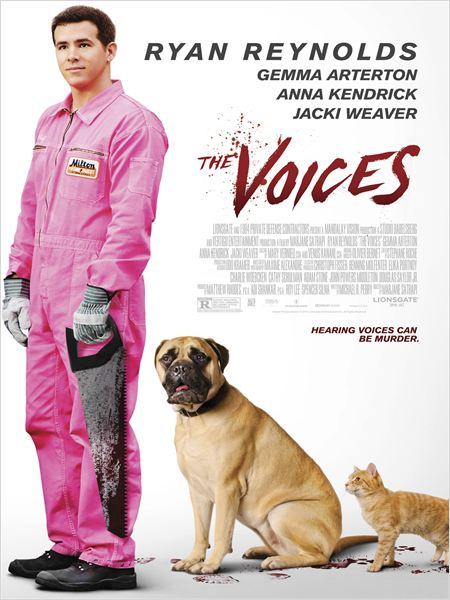 The Voices : Affiche