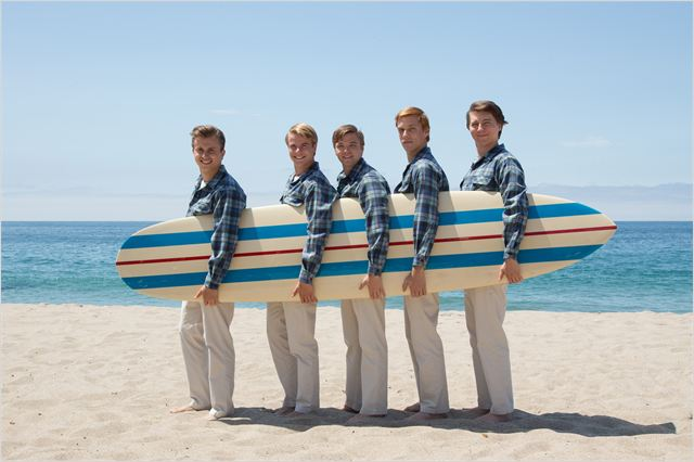 Love & Mercy, la véritable histoire de Brian Wilson des Beach Boys : Photo Brett Davern, Graham Rogers, Jake Abel, Kenny Wormald, Paul Dano
