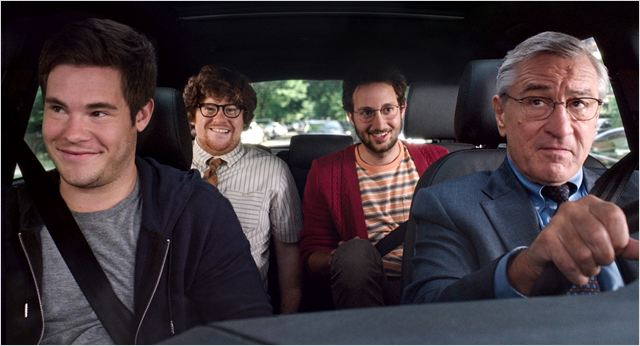Le Nouveau stagiaire : Photo Adam DeVine, Jason Orley, Robert De Niro, Zack Pearlman