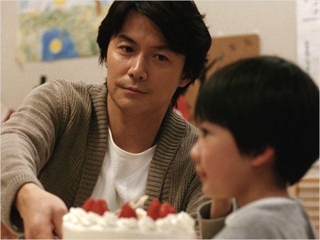 Tel père, tel fils : Photo Masaharu Fukuyama