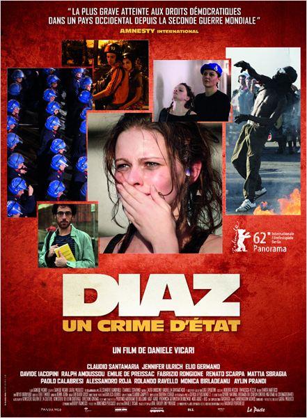 Diaz - Un crime d'État : Affiche