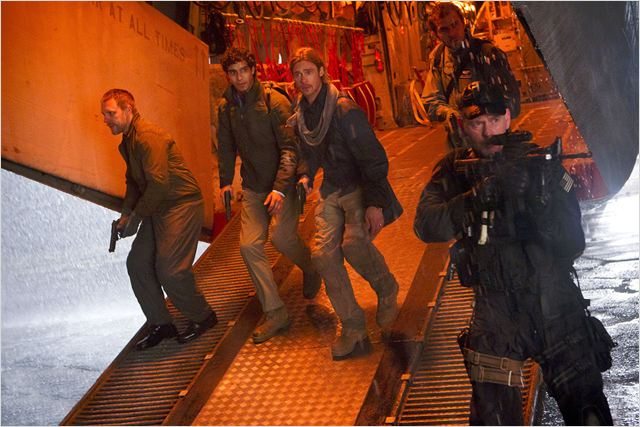 World War Z : Photo Brad Pitt, Grégory Fitoussi
