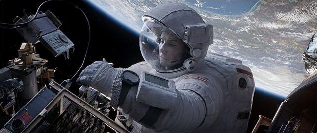 Gravity : Photo Sandra Bullock