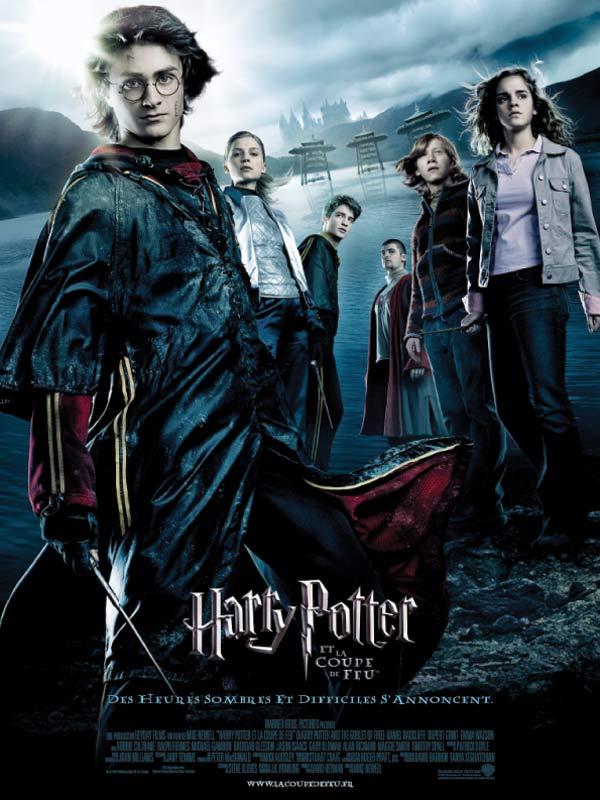 """Affiche du film de Mike Newell : """"Harry Potter et la coupe de feu"""""""