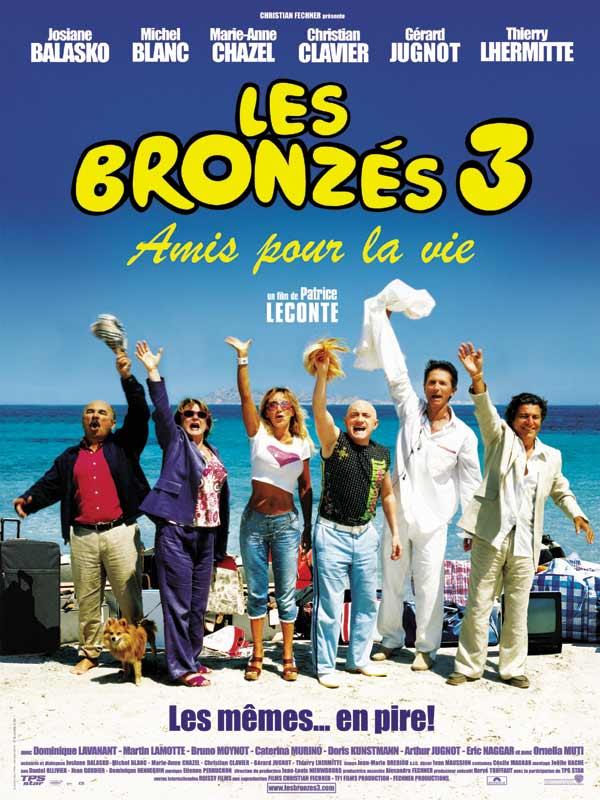 Affiche du film Les Bronzés 3