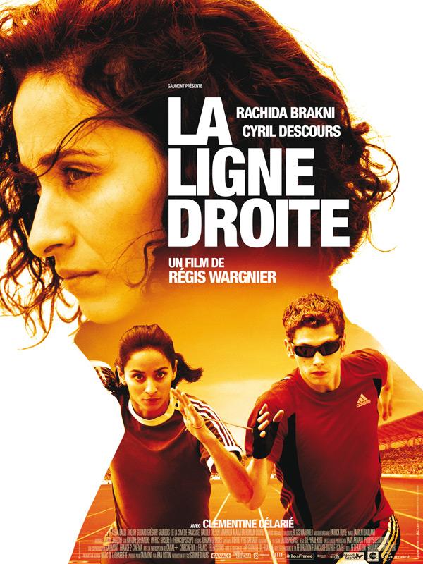 """Affiche du film """"La ligne droite"""" de Régis Wargnier"""