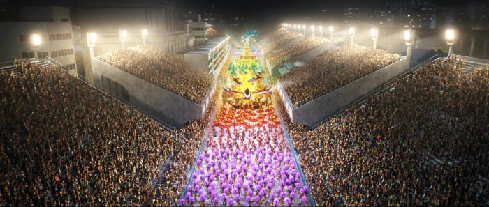 Le célèbre carnaval de Rio