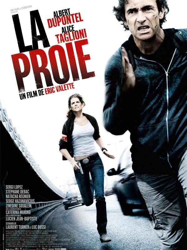 """Affiche du film """"La proie"""""""