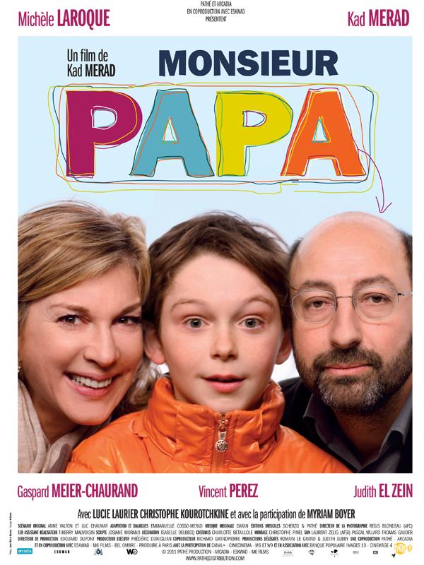 """Affiche du film """"Monsieur Papa"""""""