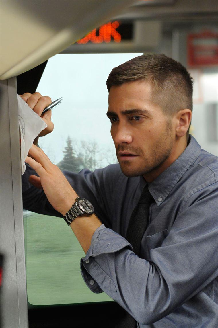 Colter Stevens (Jake Gyllenhaal) cherche à comprendre ce qui lui est arrivé