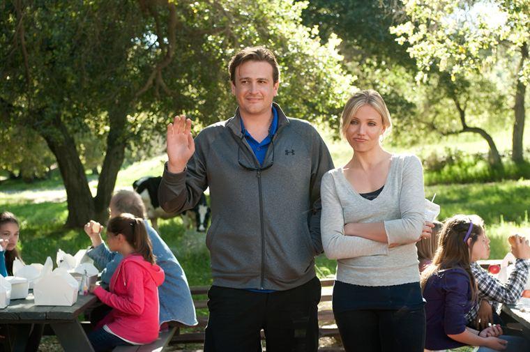 Russell (Jason Segel), le prof de gym, n'hésite pas à faire des avances sans équivoque à Elizabeth (Cameron Diaz), qui ne le trouve pas assez intéressant (riche) pour elle...